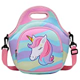 Lunch Bag for Girls, Chasechic Cute Lightweight Neoprene Insulated Lunch Boxes Tote for Women with...
