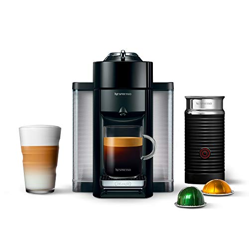 Nespresso Coffee and Espresso Machine Bundle by DeLonghi