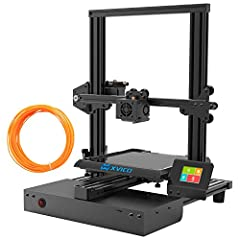 【UNIQUE DESIGN REMOVABLE GLASS PLATE 】 Unique design with the glass plate, easy to remove your printing models after cooling.Very conveninet for ender to operate machine. 【SMOOTHY & DURABLE & NOISELESS 】 Xvico 3d printer kits with the high quality ex...