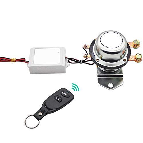 Kuinayouyi Control Remoto InaláMbrico Interruptor de BateríA Desconecte el Enclavamiento Terminal de Relé Sistema de Apagado Maestro DC12V