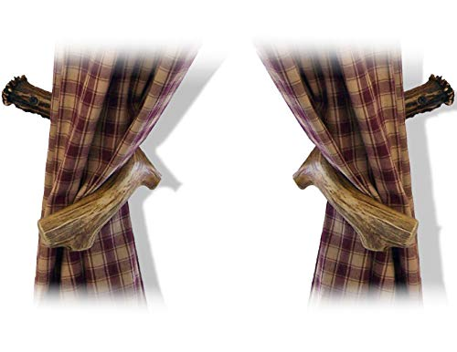 Mountain Mike's Reproductions Antler Curtain Holdback Hooks