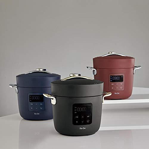 キッチン 家電 鍋 調理器具 圧力鍋 Re・De Pot/リデポット 電気圧力鍋2L H86310(サイズはありません イ:レッド)