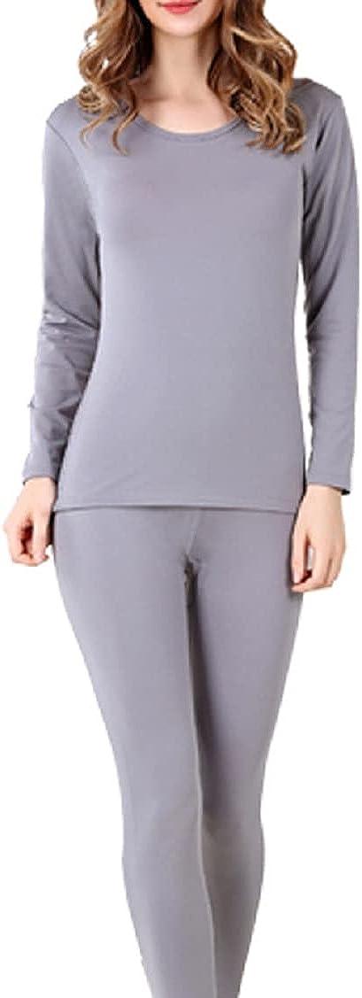 Thermal Underwear for Women Ultra Soft Thermal Underwear Pajamas Set
