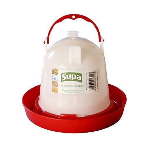 Supa - Abreuvoir - Volaille (3l) (Blanc/Rouge)