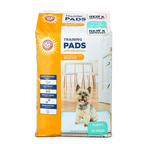 puppy training pads with attractant