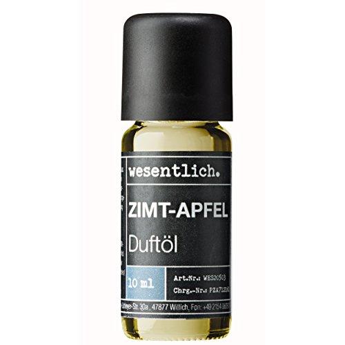Duftöl Zimt-Apfel - Aromaöl u.a. für Duftlampe und Diffuser - Premium Raumduft von wesentlich. (10ml)