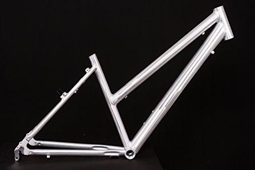 28' Zoll Alu Fahrrad Rahmen Damen Trekking City Bike Ketten Schaltung Rh 45cm roh A-Head 1 1/8