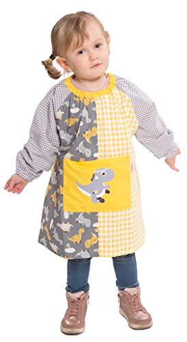 Ardeco's - Baby Guardería sin botones estampado dinosaurios amarillo (1)