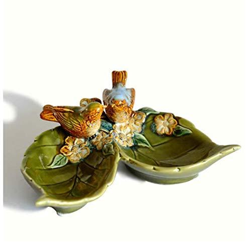 SJBB Europese huisdecoratie Scandinavische keramische vogels standbeeld opslag plaat ornamenten zeep doos asbak opslag beeldje keramische ambachten huisdecoratie accessoires Gift