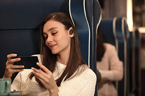 Sony WF-1000XM3 Truly Wireless Noise Cancelling Headphones with Mic, up to 32 Hours Battery Life, Stable Bluetooth Connection, Wearing Detection with Alexa Built-in - Black