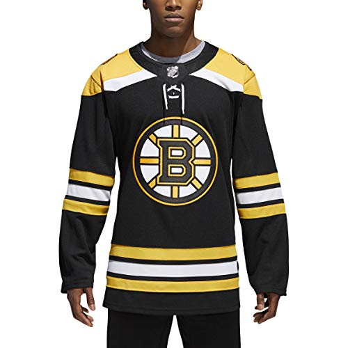 adidas Boston Bruins NHL Men's Climalite Authentic Team Hockey Jersey