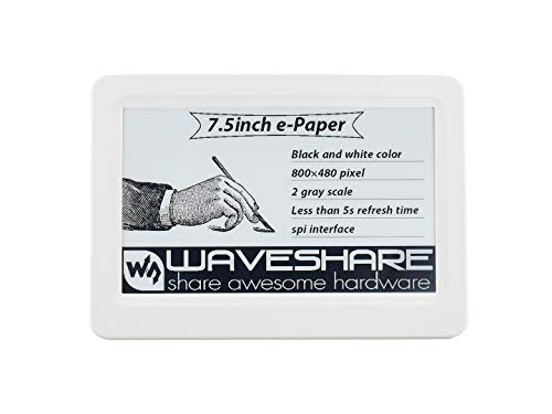 Waveshare 7.5inch Passive NFC-Powered e-Paper No Battery Wireless Powering and Data Transfer