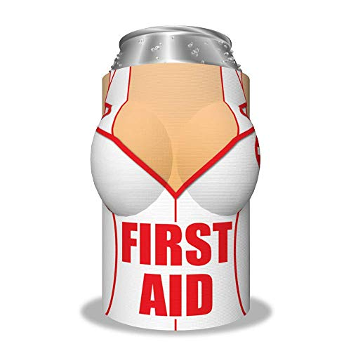"Boobzie ""First Aid"" Insulated Can Cover"