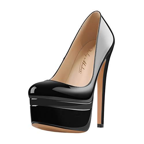 no heel platform shoes - 8