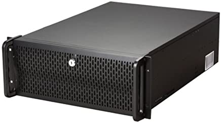 Rosewill 1.0 mm Thickness 4U Rackmount Server Chassis, Black Metal/Steel RSV-L4000