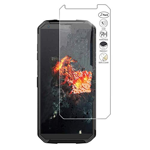 "HERCN Blackview BV9500,Blackview BV9500 Pro 5.7"" Protector de Pantalla, 9H Dureza Cristal Vidrio Templado Protector de Pantalla para Blackview BV9500,Blackview BV9500 Pro Smartphone (2 Pack)"