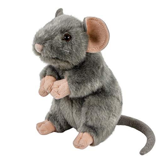 Teddys Rothenburg Kuscheltier Maus/Ratte aufrecht stehend grau 17 cm
