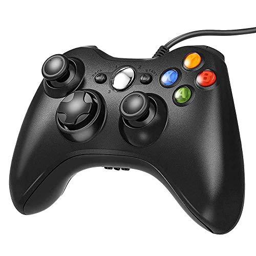Xbox 360 Wired ControllerUSB Gamepad for Microsoft Xbox 360 /Slim/PCBlack