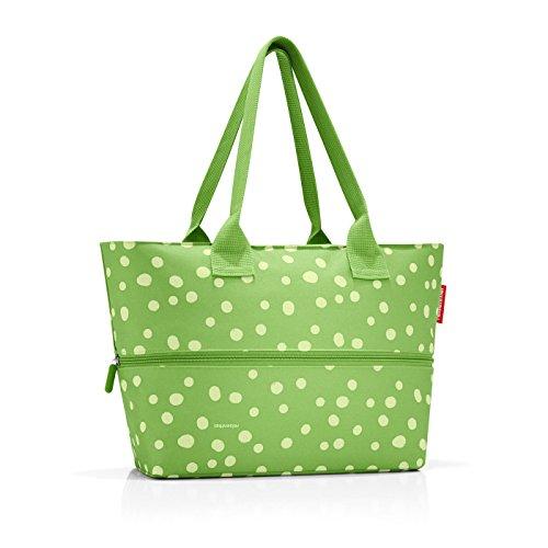 shopper e1 50 x 26,5 x 16,5 cm 50 x 35 x 16,5 cm expanded spots green