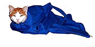 Cat-in-the-bag Cozy Comfort Carrier - Cat Carrier and Grooming Bag for Vet Visits, Medication Administration, Dental Care, Bathing, Nail Trimming and Car Travel