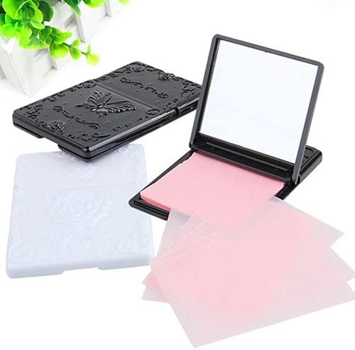 Polytree 50 pcs Blotting Paper Beauty Control Oil Absorbing Tissues Face Facial Make Up Sheets product image