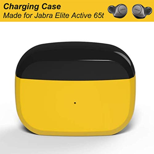 Replacement Charging Case Compatible With Jabra Elite Active 65t Elite 65t Charger Case Only Earbuds Not Included Earbuds Protective Substitute Cover With Built In Battery Yellow Buy Online In Gambia