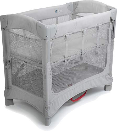 Arm's Reach Concepts Mini Ezee 2-in-1 Co-Sleeper Bassinet - Grey
