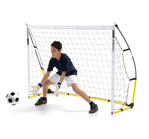 Quick Play Sport Fußballtor Portable, mehrfarbig, 2.4 x 1.5m