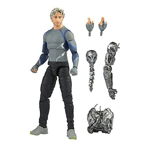 Marvel Hasbro Legends Series - Figura de Quicksilver de 15 cm - Personaje de la Saga Infinity - Diseño Premium - Figura y 5 Accesorios