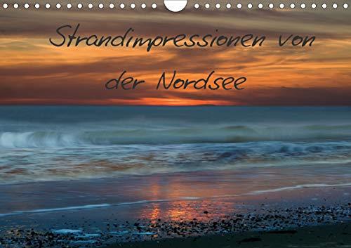 Strandimpressionen von der Nordsee (Wandkalender 2021 DIN A4 quer)