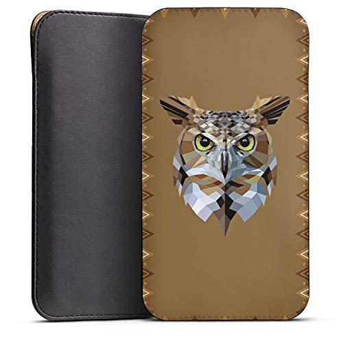 DeinDesign Cover kompatibel mit Wiko Highway Pure Hülle Tasche Sleeve Socke Schutzhülle Eule Uhu Owl