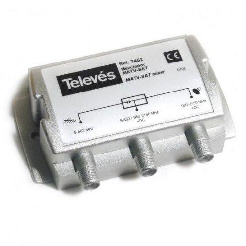 Mezclador Terrestre-Sat RF+FI