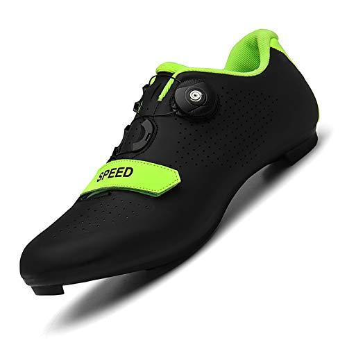 Scarpe da Ciclismo Antiscivolo, Scarpe da Bicicletta per Bici da Strada Sneaker da Mountain Bike SPD/SPD-SL Scarpe da MTB per Bici da Interno Compatibili per Uomo E Donna