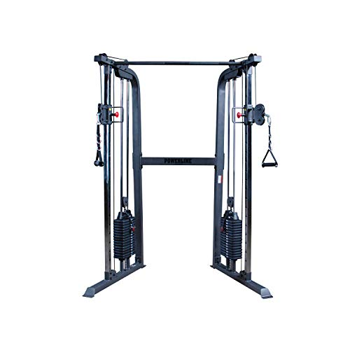 Body-Solid Powerline PFT100 Functional Trainer Cable Machine, Dual 160 Lb. Weight Stacks