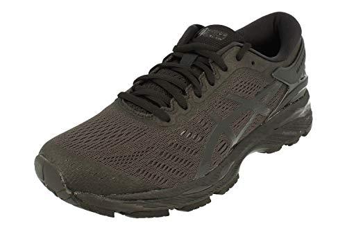 ASICS Men's Gel-Kayano 24 Running Shoes, Black (Black/Black/Carbon 9090), 9.5 UK 44.5 EU