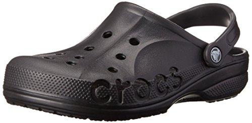 Crocs Unisex-Erwachsene Baya' Clogs, Schwarz (Black), 39/40 EU