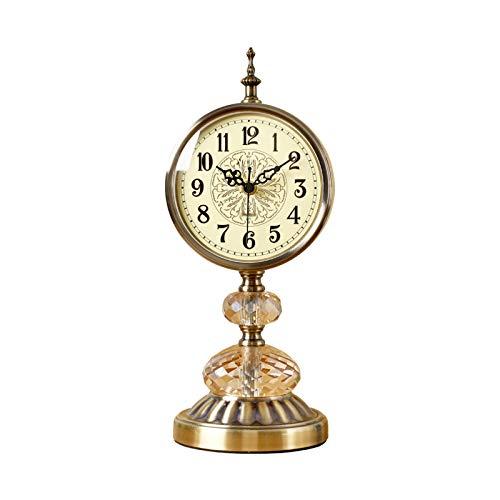 Reloj de sobremesa Reloj de mesa de mesa de arte de lujo...