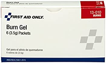 6-Pack First Aid Only Burn Gel