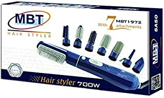 Rebune Hair Styler 8 in 1 Hair Style 800 Watts, Blue, MBT1972