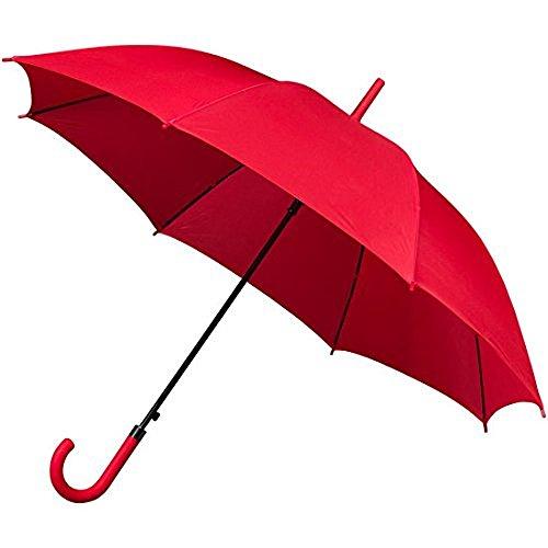 Falconetti Regenschirm Damen automatisch 105 cm rot