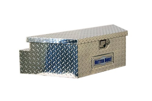 Better Built 66010148 Utility Trailer Tongue Tool Box L 39 in. x W 16.5 in. x H 12 in. Brite Aluminum Wide Utility Trailer Tongue Tool Box