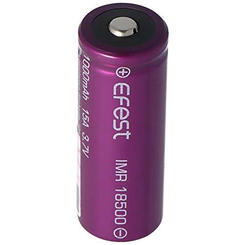 EFEST Purple IMR18500-1000mAh 3,7V (Button Top, ungeschützt)
