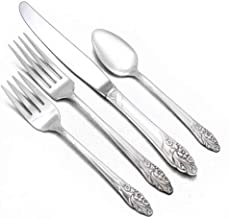 Evening Star by Community, Silverplate 4-PC Setting, Dinner, Modern