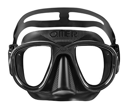 OMER Alien Diving Mask Freediving and Spearfishing Mask Options Available (Black)