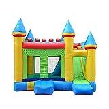 BSJZ Castillo Hinchable al Aire Libre Divertido para niños - Casa Hinchable con tobogán y Pozo de Bolas para niños, Castillos saltarines con soplador de garantía de