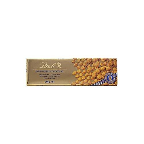 Lindt Swiss Premium Milchschokolade - Haselnuss (300G)