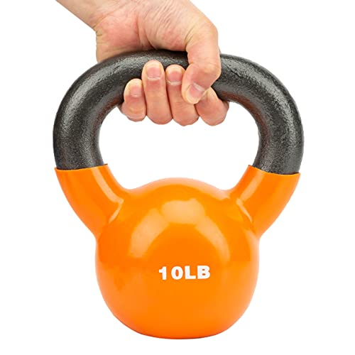 YOUXI Kettlebell, Adjustable Kettlebell Weights Set, Professional Kettlebell 10 LB, Wide Handle, Great for Home or Gym Full-Body Workout and Strength Training