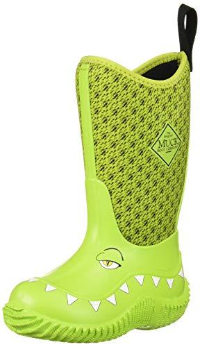 Muck Boot Unisex Hale Rain Boot, Green Monster, Children 8 Medium US Little Kid