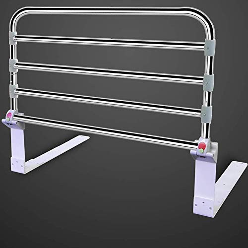 Jlxl Bed Rails For Elderly Adults Adjustable Fold Down, Safety Guard For Toddler, Seniors, Kids, Hospital Grade Assistance For Getting In & Out Of Bed At Home Home
