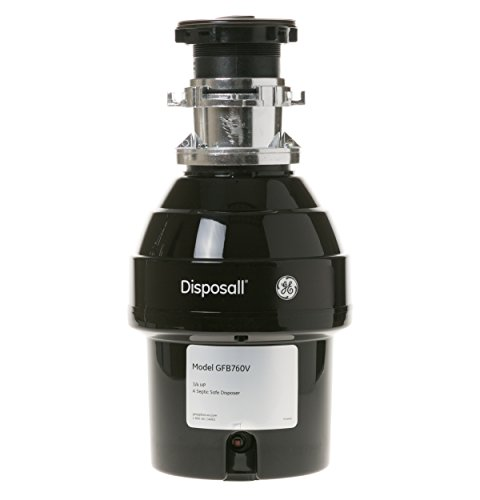 GE 3/4 HP Batch Feed Garbage Disposer Non-Corded